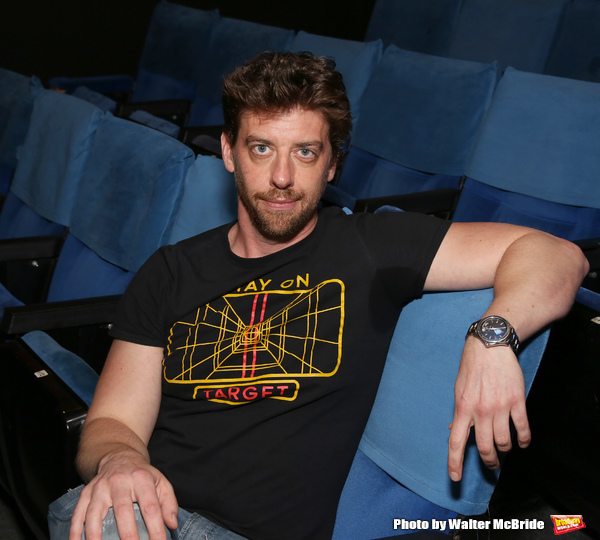 Director Christian Borle Photo Shoot for 'Popcorn Falls' at the Jerry Orbach Theatre on September 6, 2018 in New York City.
