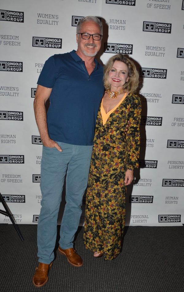 Tom Hewitt and Allison Fraser