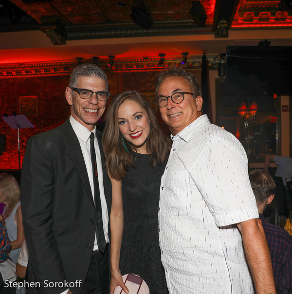 Jack Tantleff, Laura Osnes, Rob Fisher