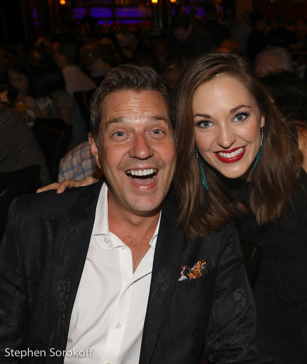 Photo Coverage: Laura Osnes and Steven Reineke Visit Jana Robbins & Haley Swindal at Feinstein's/54 Below