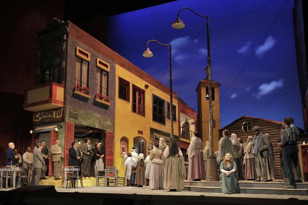 Photo Flash: Get A First Look At Mascagni's CAVALLERIA RUSTICANA and Leoncavallo's PAGLIACCI at San Francisco Opera