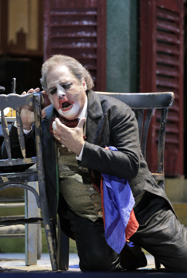 "Marco Berti as Canio in Leoncavallo's ""Pagliacci.""  Photo"