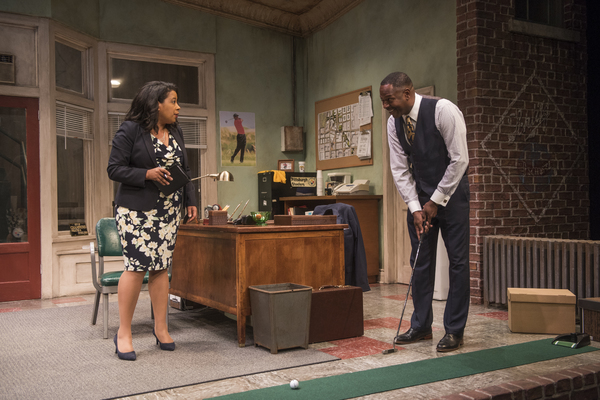 Photo Flash: First Look at RADIO GOLF at Court Theatre