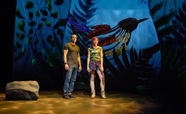 Ricardo Chavira and Cate Scott Campbell