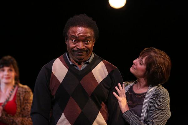 Cast (L-R):  Vivien Latham, Dan Tulis, and Cindy Pearl