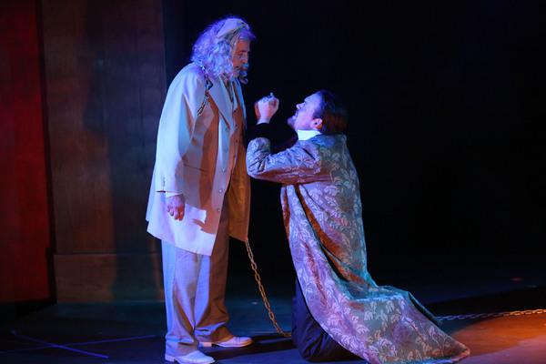 Cast (L-R):  Paul Panico and J. Bailey Burcham