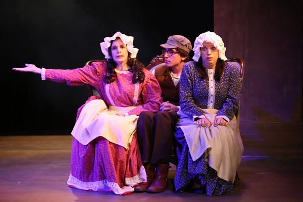 Cast (L-R):  Vivien Latham, Sam Herbert, Melissa Strauss