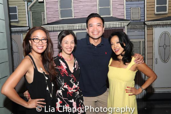 Jaygee Macapugay, Lia Chang, Jose Llana and J. Elaine Marcos