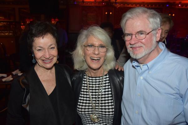 Lynn Ahrens, Jamie deRoy and Christopher Durang