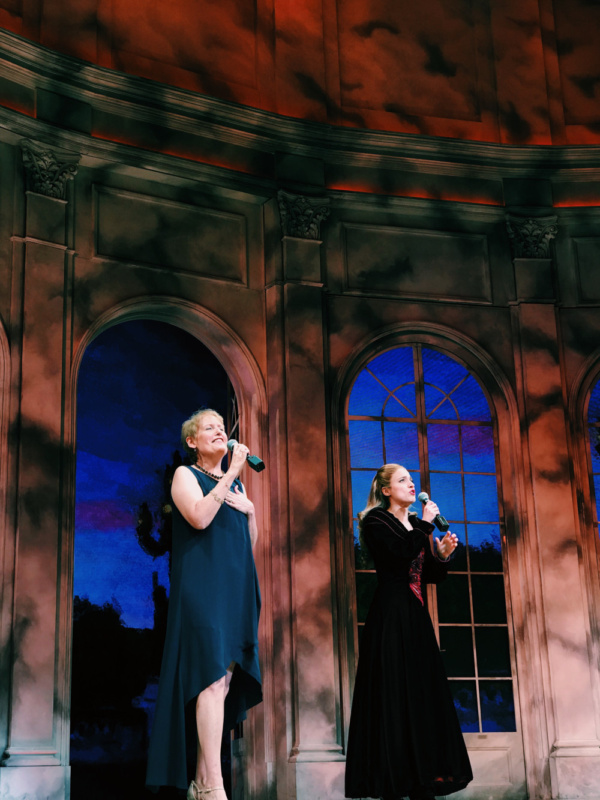 Photo Flash: Liz Callaway Performs 'Journey to the Past' With Christy Altomare at ANASTASIA Curtain Call