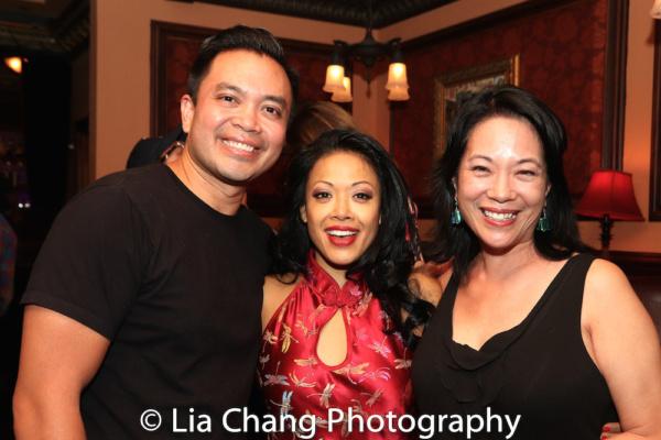 Jose Llana, J. Elaine Marcos and Christine Toy Johnson