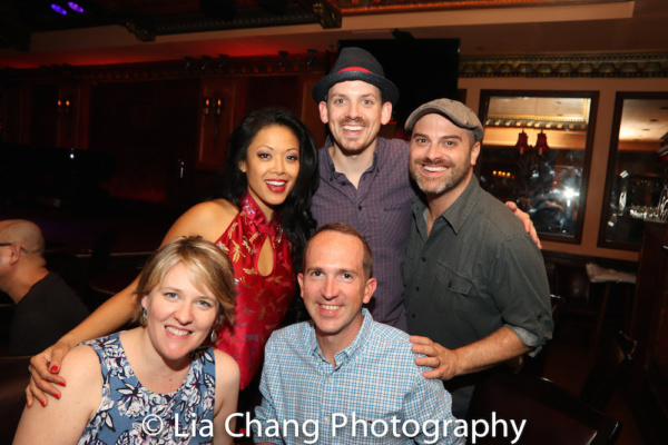 J. Elaine Marcos, Dustin Harder, David Rossetti and guests