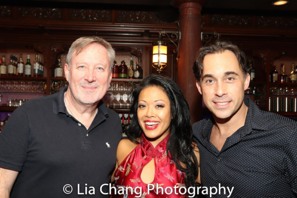 Musical Director John McDaniel, J. Elaine Marcos and Ryan Duncan