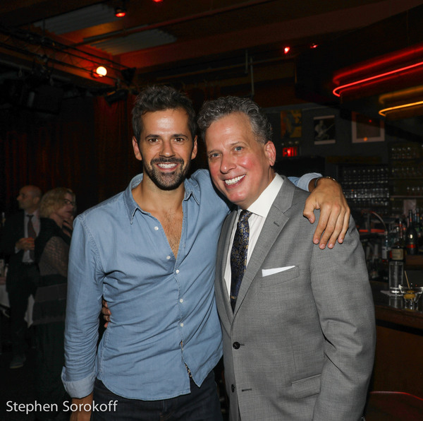 Robbie Fairchild, (Tony Nominee, American in Paris) & Billy Stritch