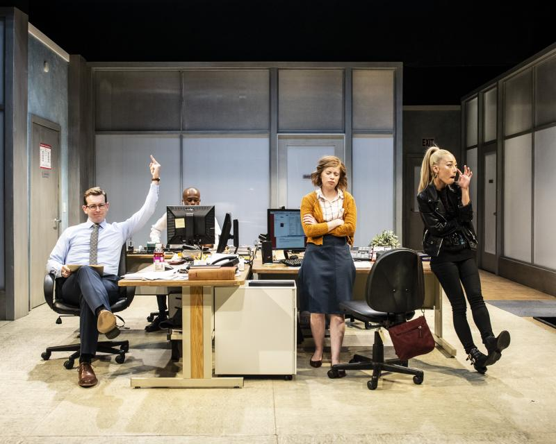 BWW Review: A Powerful GLORIA at Woolly Mammoth Theatre Company