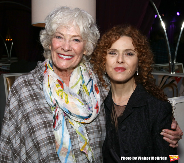 Betty Buckley and Bernadette Peters