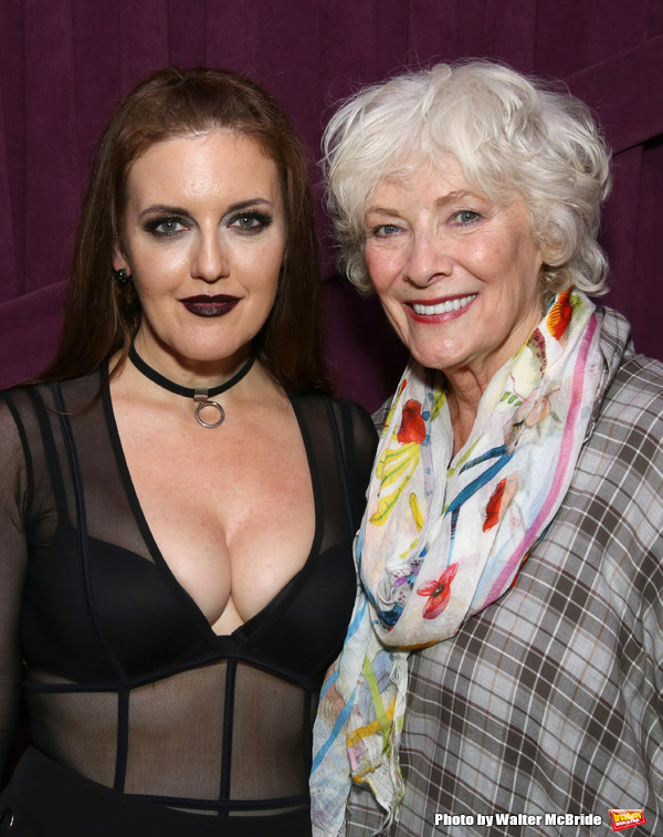 Photo Coverage: Bernadette Peters, Betty Buckley, and More Visit Jennifer Simard Backstage After Debut at The Green Room 42