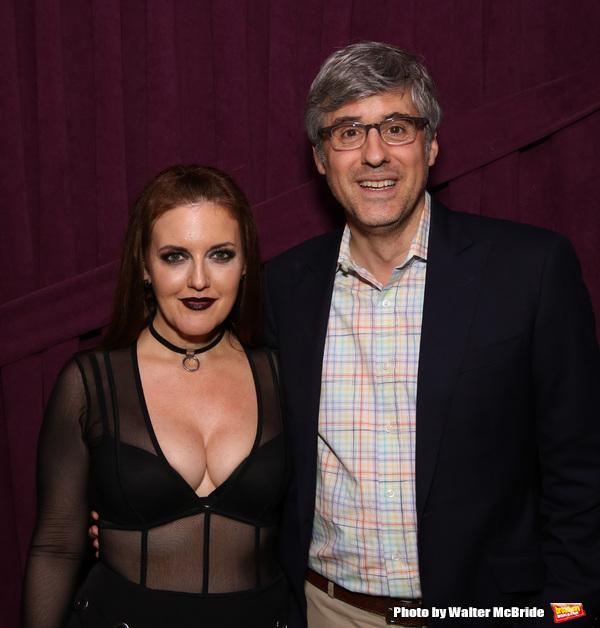 Jennifer Simard and Mo Rocca Photo
