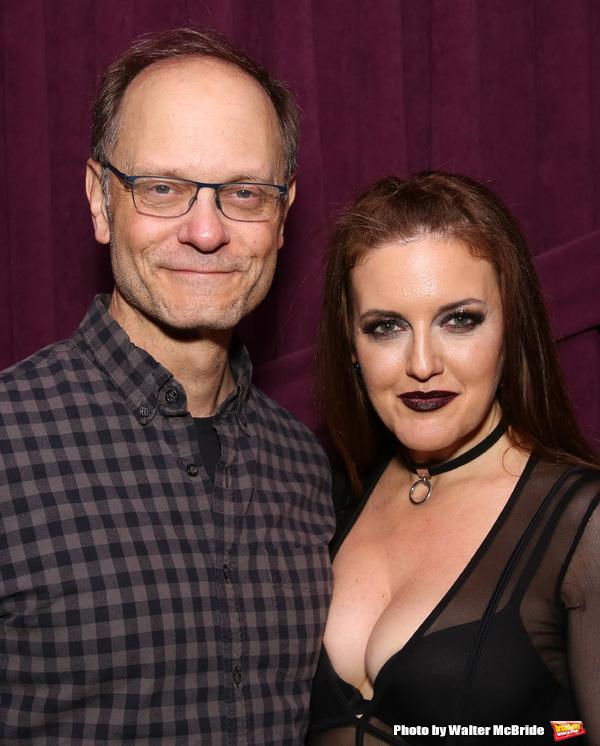 David Hyde Pierce and Jennifer Simard