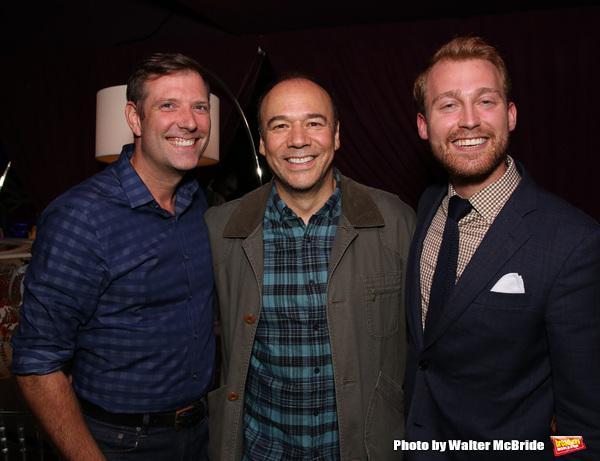 Dan Fortune, Danny Burstein and Daniel Dunlow Photo