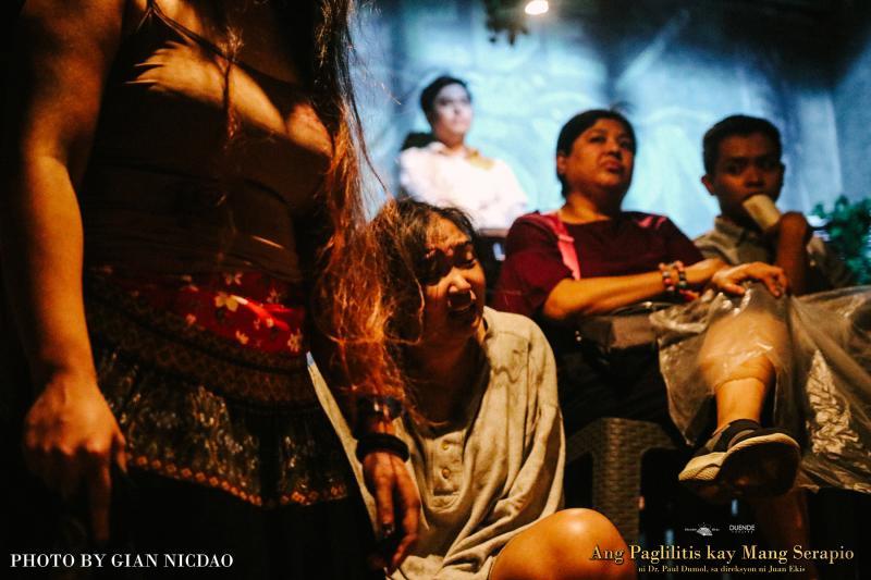 Photo Flash: First Look at ANG PAGLILITIS KAY MANG SERAPIO 50th-Anniversary Production