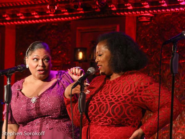 Cynthia Thomas & Frenchie Davis