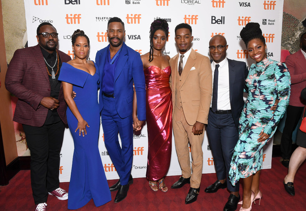 Brian Tyree Henry, Regina King, Colman Domingo, KiKi Layne, Stephan James, Barry Jenk Photo