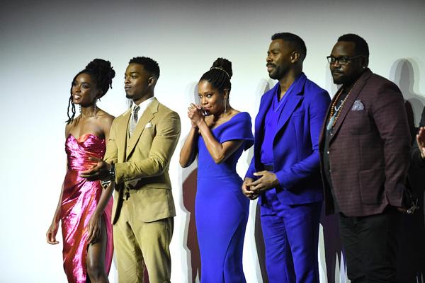 KiKi Layne, Stephan James, Regina King, Colman Domingo, Brian Tyree Henry Photo