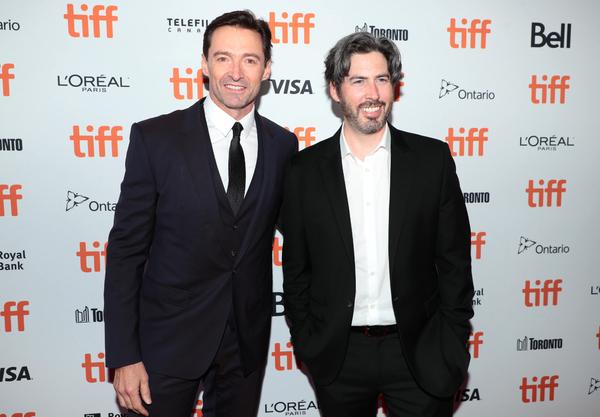 Hugh Jackman and Jason Reitman
