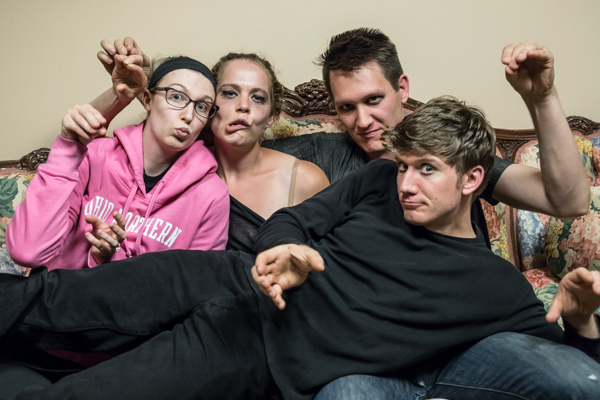 Photo Coverage: First look at Warehouse Theatre Columbus' COWBOY MOUTH