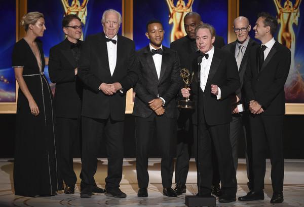 Andrew Lloyd Webber, Tim Rice and John Legend