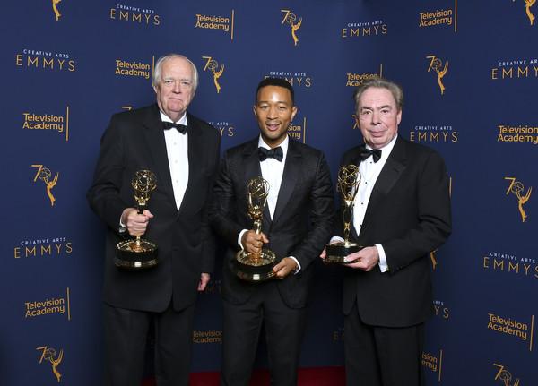 Tim Rice, John Legend, and Andrew Lloyd Webber