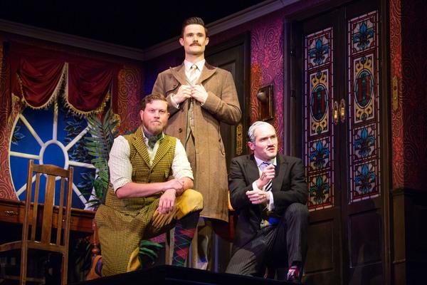 Preston Truman Boyd, Mark Evans, and Harrison Unger
