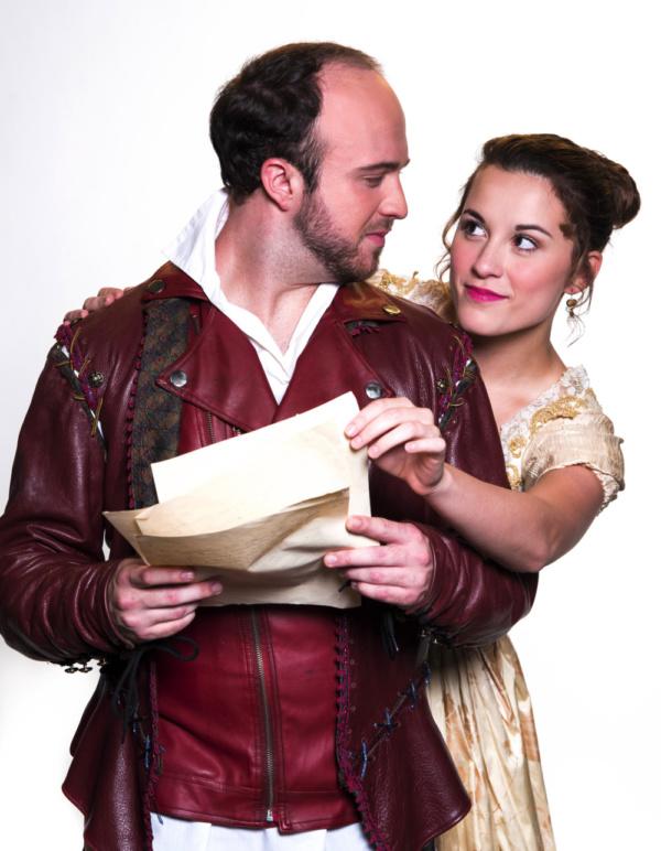 John Romanski as Will and Olivia Hensley as Viola Photo