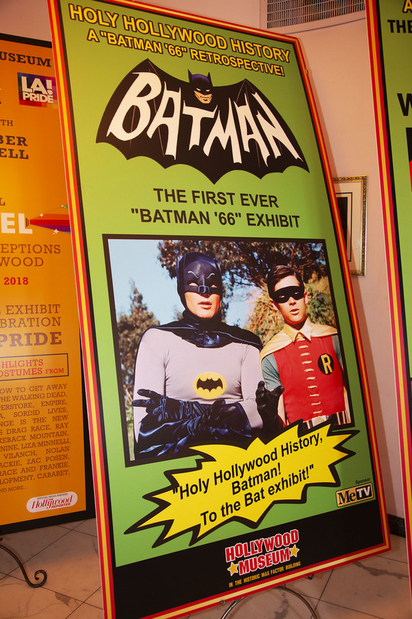 Photo Coverage: Batman's Robin, Burt Ward, Joins Series Experts at the BATMAN 66 EXHIBIT PANEL
