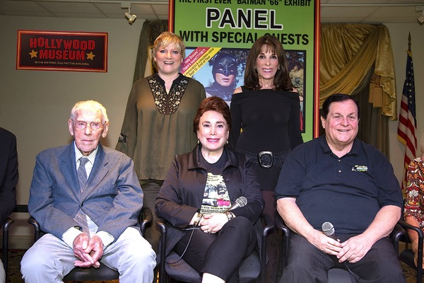 Alison Arngrim (Little House on the Prairie) and Kate Linder (Y&R) seen her with Robert Butler, Donelle Dadigan and Burt Ward were among patrons and fans in attendance.