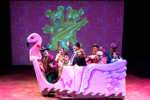 Take a trip through Wonkaland!  Cast of Roald Dahl's WILLY WONKA