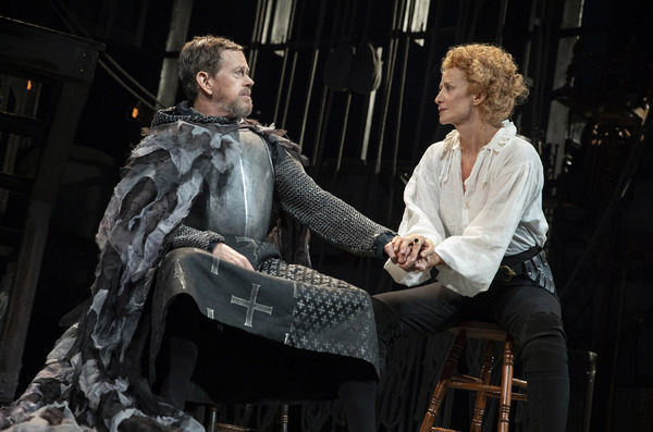 Bernhardt/Hamlet Production Photo - Dylan Baker and Janet McTeer