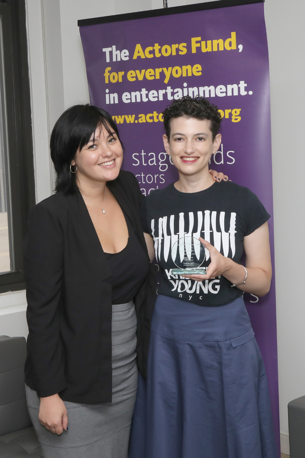 Photo Flash: Julia Jarcho Receives The Mark O'Donnell Prize
