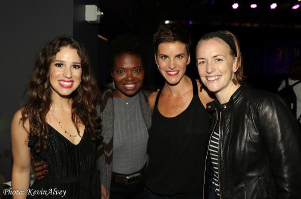 Chilina Kennedy, Lachanze, Jenn Colella, Carmel Dean Photo