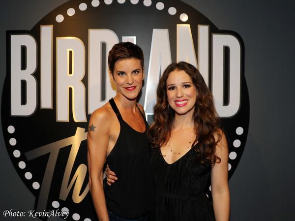 Photo Flash: Jenn Colella and Chilina Kennedy Charm at Birdland