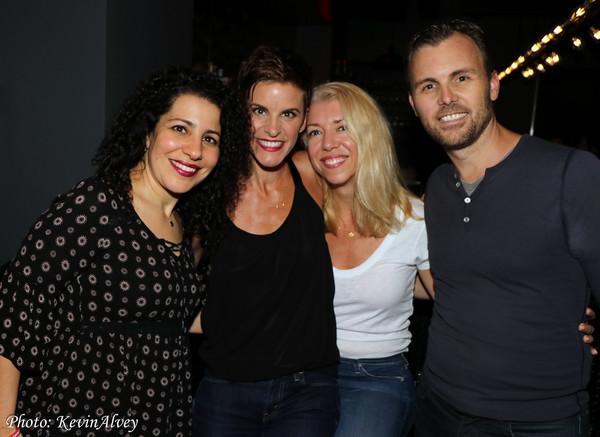 Julie Garnye, Jenn Colella, Kelly Devine, Tony LePage