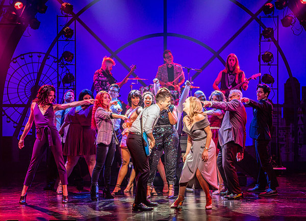 Photo Flash: First Look at Matt Doyle and Katie Rose Clarke in THE HEART OF ROCK & ROLL