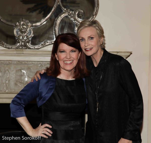 Photo Coverage: Jane Lynch and Kate Flannery bring 'Two Lost Souls' to Cafe' Carlyle