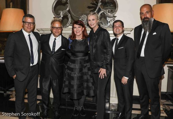 Tony Guerrero, music director, Mark Visher, Kate Flannery, Jane Lynch, Sean McDaniel, Photo