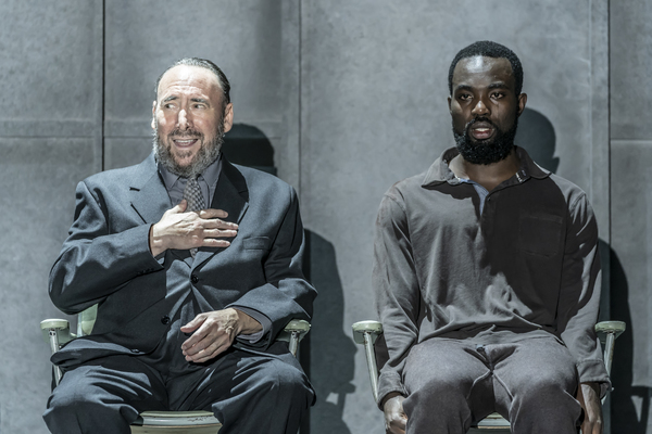 Antony Sher and Paapa Essiedu Photo