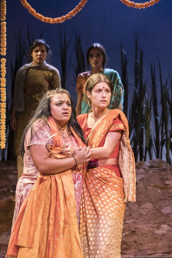 Anya Chalotra and Rina Fatania