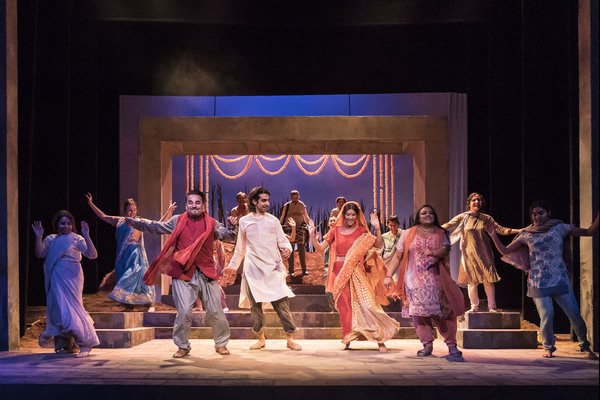 Photo Flash: First Look at THE VILLAGE at Theatre Royal Stratford East