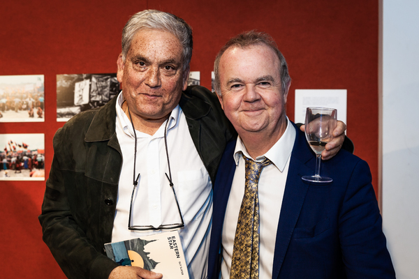 Christopher Gunness and Ian Hislop