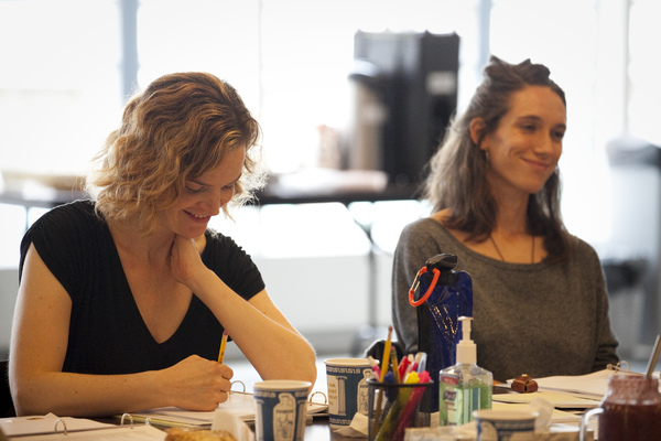 Photo Flash: Inside Rehearsal For PLOT POINTS IN OUR SEXUAL DEVELOPMENT